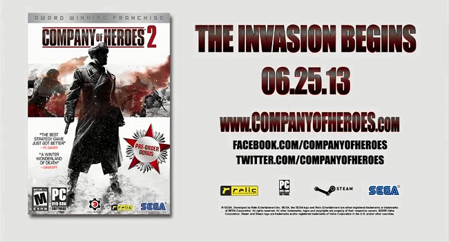 Photo of Company of Heroes 2 gets campaign trailer