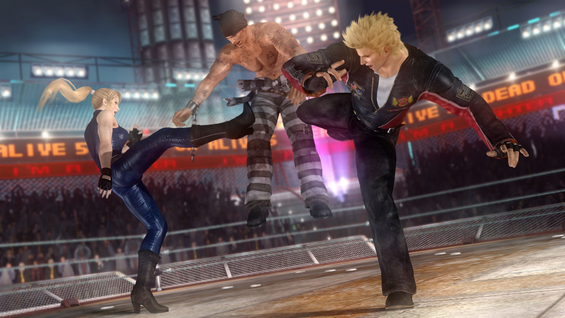 Photo of Dead or Alive 5 Ultimate trailer shows off Virtua Fighter's Jacky and Sarah