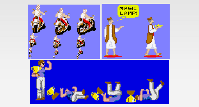 Photo of SFTW: Unused sprites found in OutRun