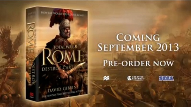 Photo of Total War: Rome gets a book deal