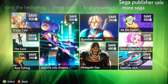SEGA Game Deals: Awesome SEGA savings on XBL right now