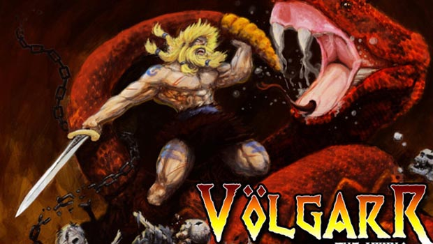 Photo of Volgarr the Viking ported to Dreamcast
