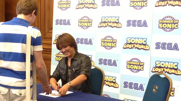 Photo of Iizuka: Color Powers will be standard in future Sonic games