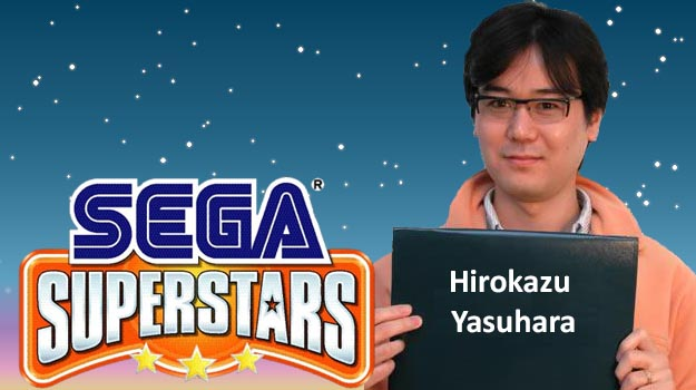 Photo of SEGA Superstars: Hirokazu Yasuhara