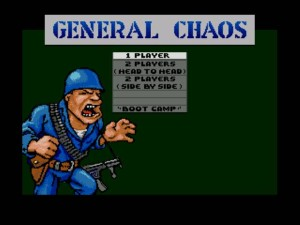 General Chaos - Title Screen