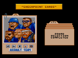 General Chaos - Team Select
