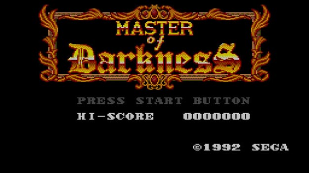 Photo of SegaMasterSystem.com presents Master System of Darkness