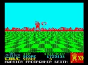 Space Harrier - ZX Spectrum [1986]