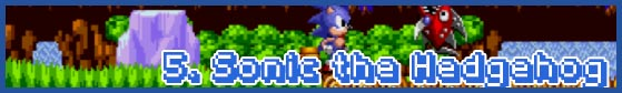 05 sonic1 subhead SEGA Nerds 2013 game round up