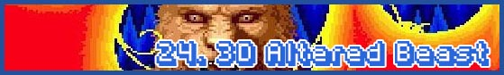 24 altered beast subhead SEGA Nerds 2013 game round up