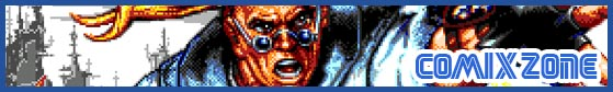 COMIX ZONE BANNER