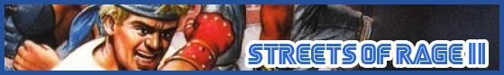 STREETS OF RAGE 2 BANNER