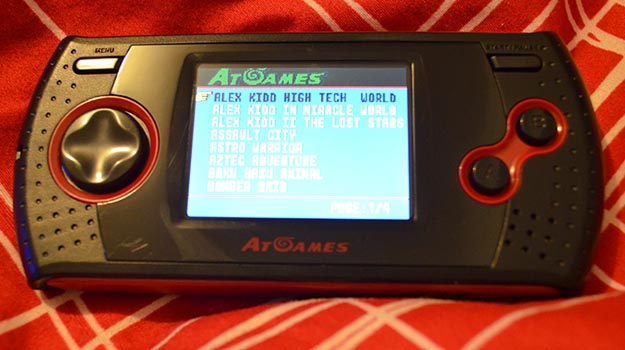 Photo of Review: AtGames Arcade Gamer Portable