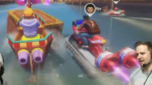 Photo of Yogscast may have leaked Ryo Hazuki in Sonic & All-Stars Racing Transformed