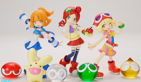 15pic06 600x350 Puyo Puyo 20th and SEGA Resin Figures