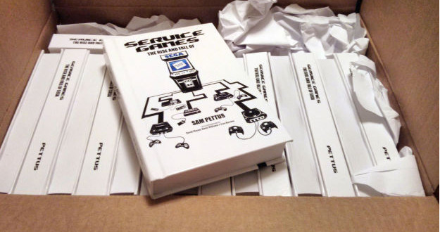Service Games history book now shipping