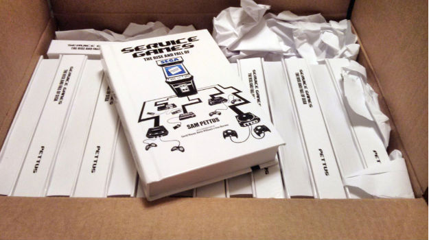 Photo of Service Games history book now shipping