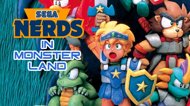 Photo of SEGA Nerds in Monster Land