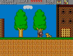 Wonder Boy in Monster Land - Fight