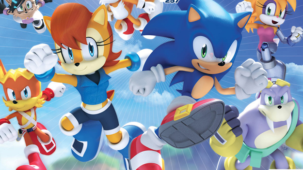 Photo of Sonic characters at Archie Comics get a redesign too