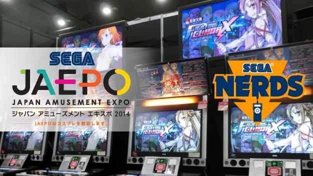 Photo of SEGA reveals Arcade lineup for JAEPO