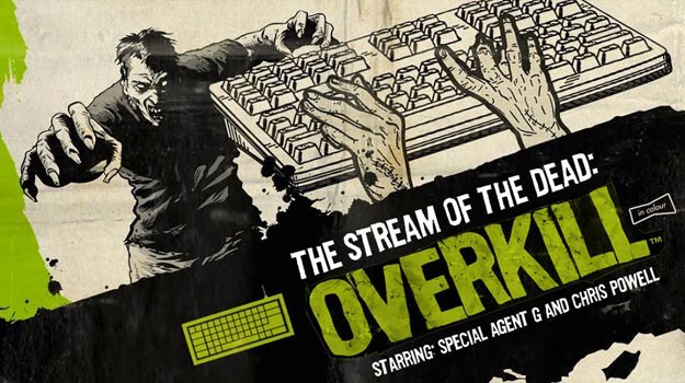 Photo of Chris and Graham play Typing of the Dead: Overkill