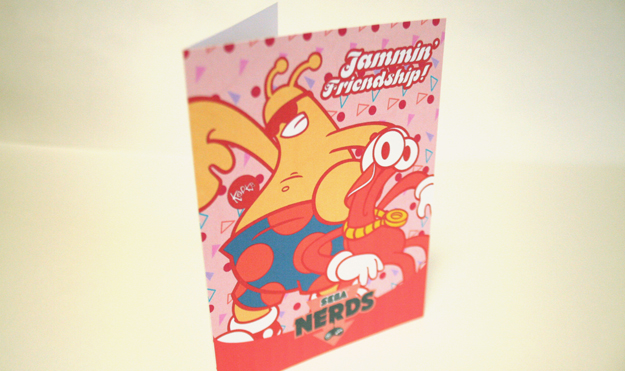 Toe Jam and Earl Valentine's Card by Köpke