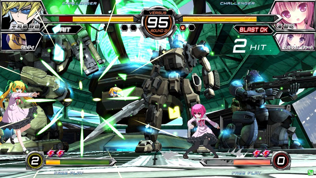 Border Break Stage at Fighting Climax