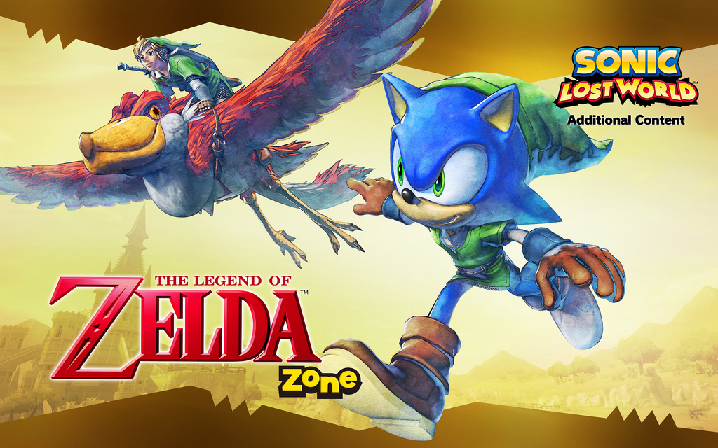 Photo of Sonic: Lost World The Legend of Zelda Zone gallery