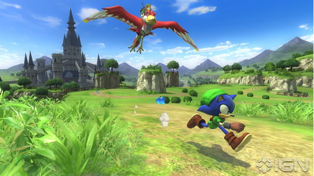 Photo of Sonic travels to The Legend of Zelda universe in free Lost World DLC