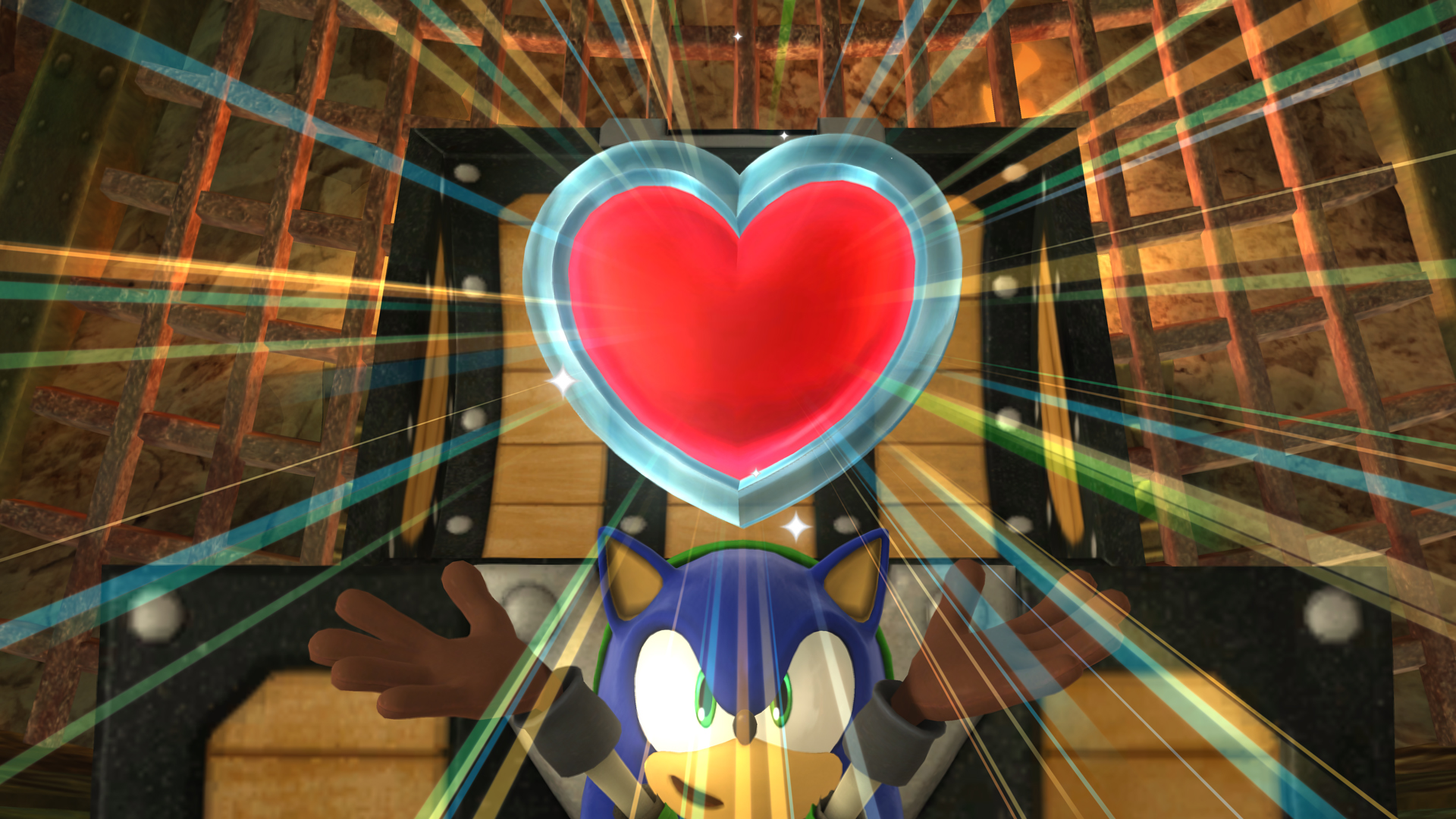 Sonic heart container