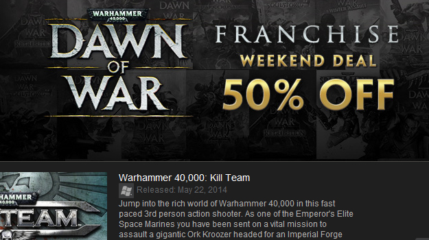 Photo of SEGA slashes Dawn of War Steam prices by 50%