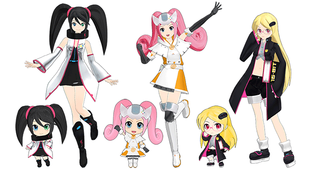 Sega Hard Girls anime