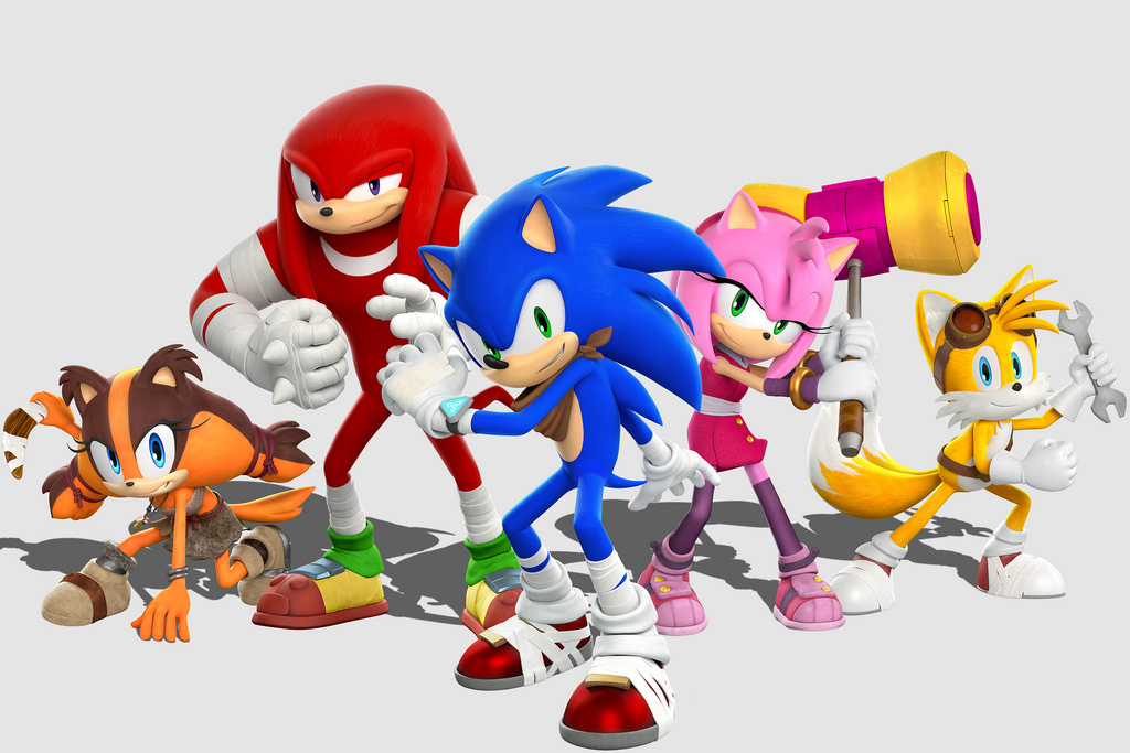 Photo of SEGA takes the 'wraps' off Sonic Boom games