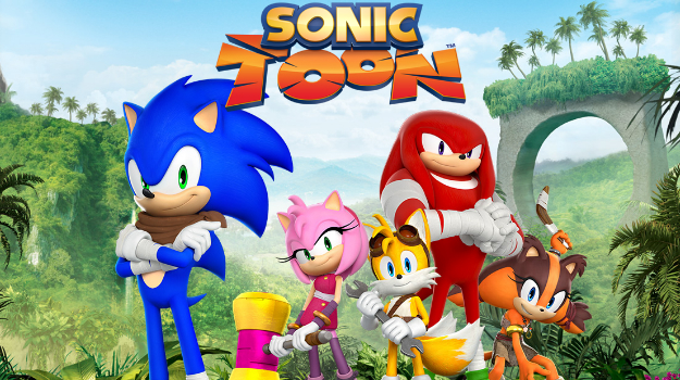 Photo of 'Sonic Toon' available on Japan's Netflix on July 1st.