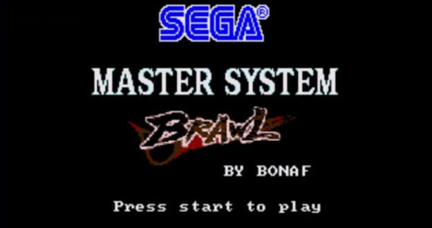 SEGA Master System Brawl lets 8-bit characters battle it out