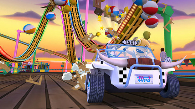 Photo of Crazy Taxi: City Rush updates adds night driving, new events