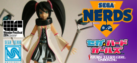 UNBOXING: SEGA's Summer 2014 Wonfest: Saturn SEGA Hard Girl Figure