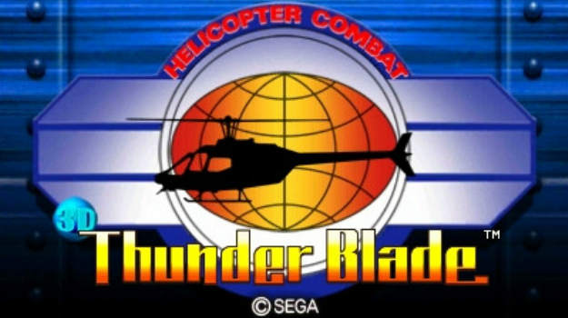 Photo of Thunder Blade 3D next Japanese 3D Classic