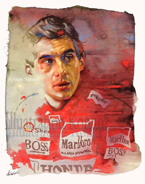 Ayrton Senna: Super Monaco GP by Tango