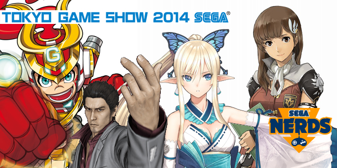 Photo of [TGS2014] SEGA Game Trailers report!