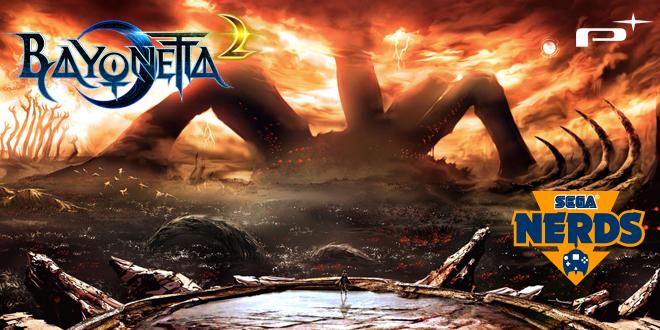 Photo of Bayonetta 2 concept art by Yusuke Kan and Mari Shimazaki