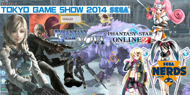 Photo of [TGS2014] PSO2 + PSO Nova report! SEGA Hard Girls and Resonance of Fate Collabs!