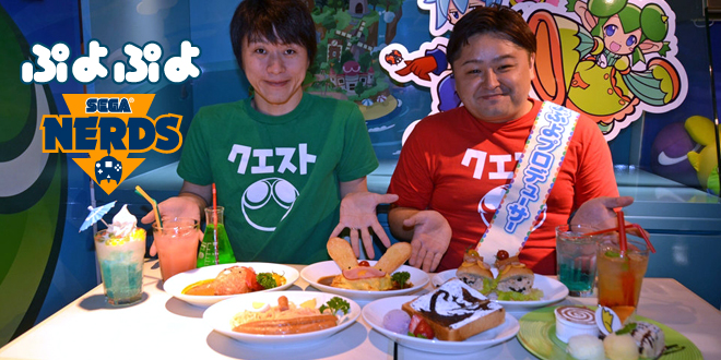 SEGA of Japan opens a Puyo Puyo Quest Cafe