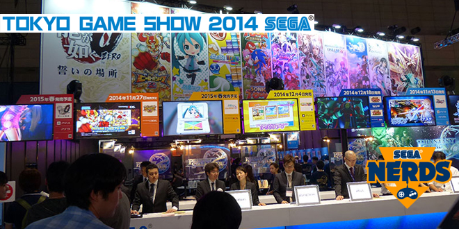 Photo of [TGS2014] SEGA Booth videos