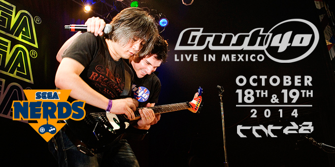 Photo of Crush 40 to play 2 concerts in Mexico's TNT Expo