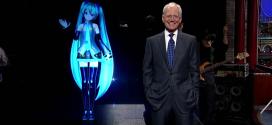Hatsune Miku sings her way into David Letterman's heart