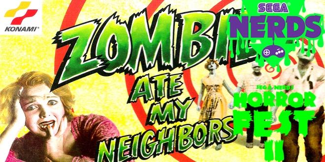 SEGA Horror Fest review: Zombies Ate My Neighbors