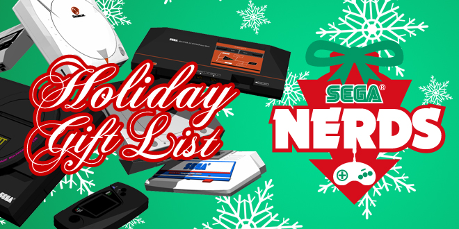 Photo of The SEGA Nerds Holiday Gift List!