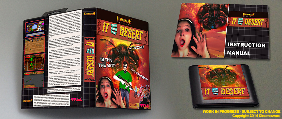 It Came From The Desert Finally Coming To The Genesis After 24